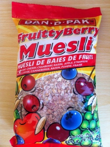 Fruitty Berry Muesli