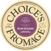 choice's fromage, rum raisin