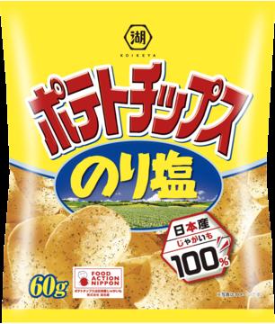 kokeiya salted laver potato chips
