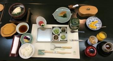 kappo ryokan wakamatsu breakfast