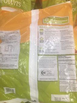 mccain tortas de papas hashbrowns back of package