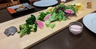 dinner vegetables goen no mori