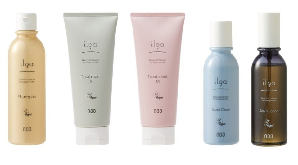 ilga vegan shampoo and conditioner