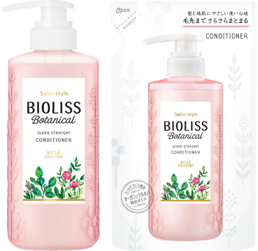 Kose Bioliss Botanical Sleek Straight Conditioner