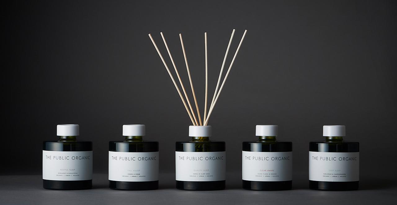 The Public Organic Essential Oil Diffuser Series