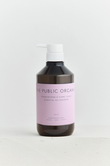 the public organic frankincense and ylang ylang essential oil shampoo