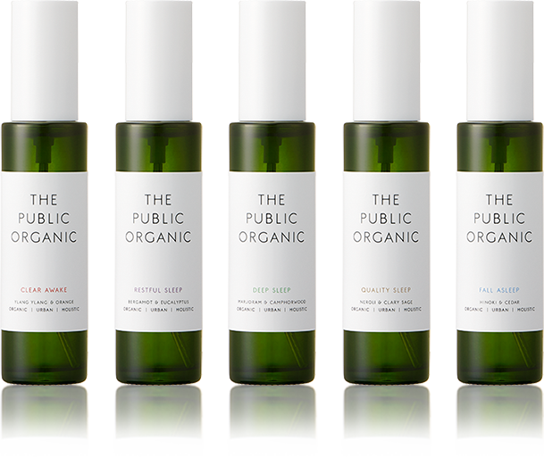 The Public Organic Pillow Mist series