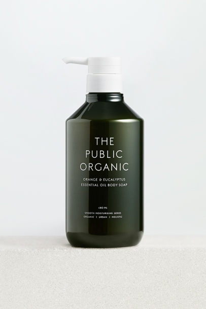 The Public Organic Super Refresh Body Soap