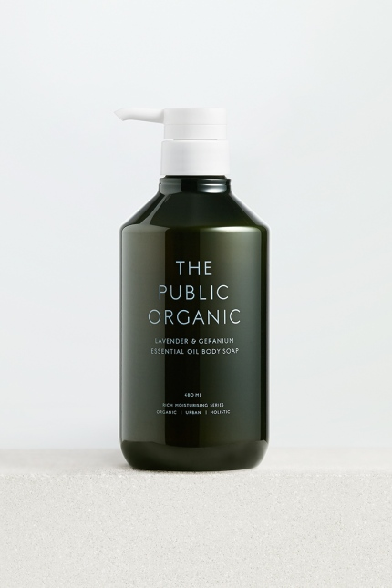 The Public Organic Super Relax Body Soap