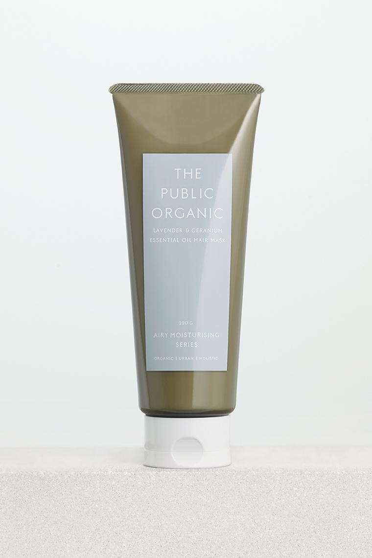 the public organic super relax hair mask
