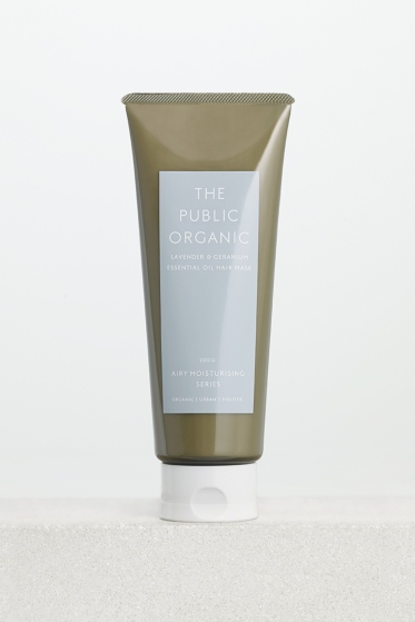 the public organic super relax hair mask