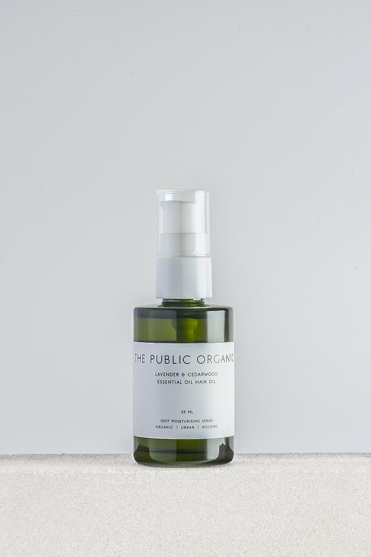 the public organic super relax hair oil