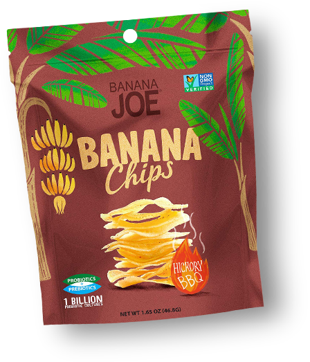 Banana Joe Banana Chips Hickory BBQ