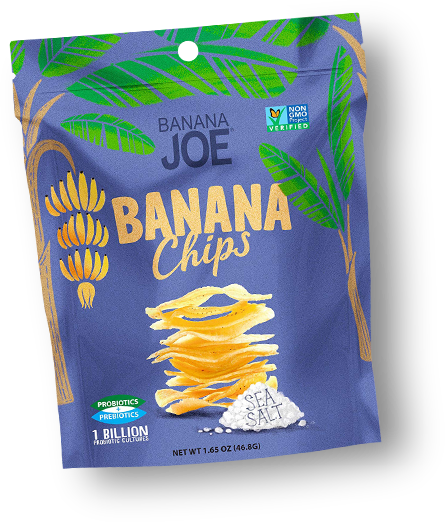 Banana Joe Banana Chips Sea Salt