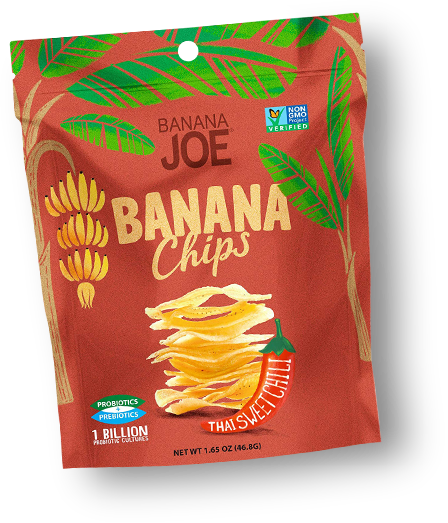 Banana Joe Banana Chips Thai Sweet Chili