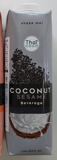 gyomu supa thai coco coconut sesame beverage