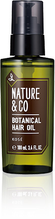 Kose Nature & Co Botanical Hair Oil