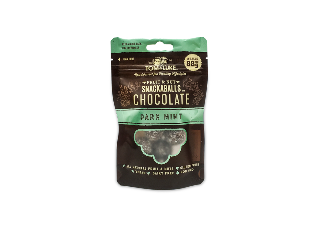 tom & luke snackaballs chocolate dark mint