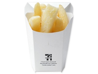 7-11 hot french fries