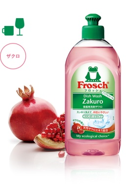 Frosch Pomegranate Dishwashing Liquid