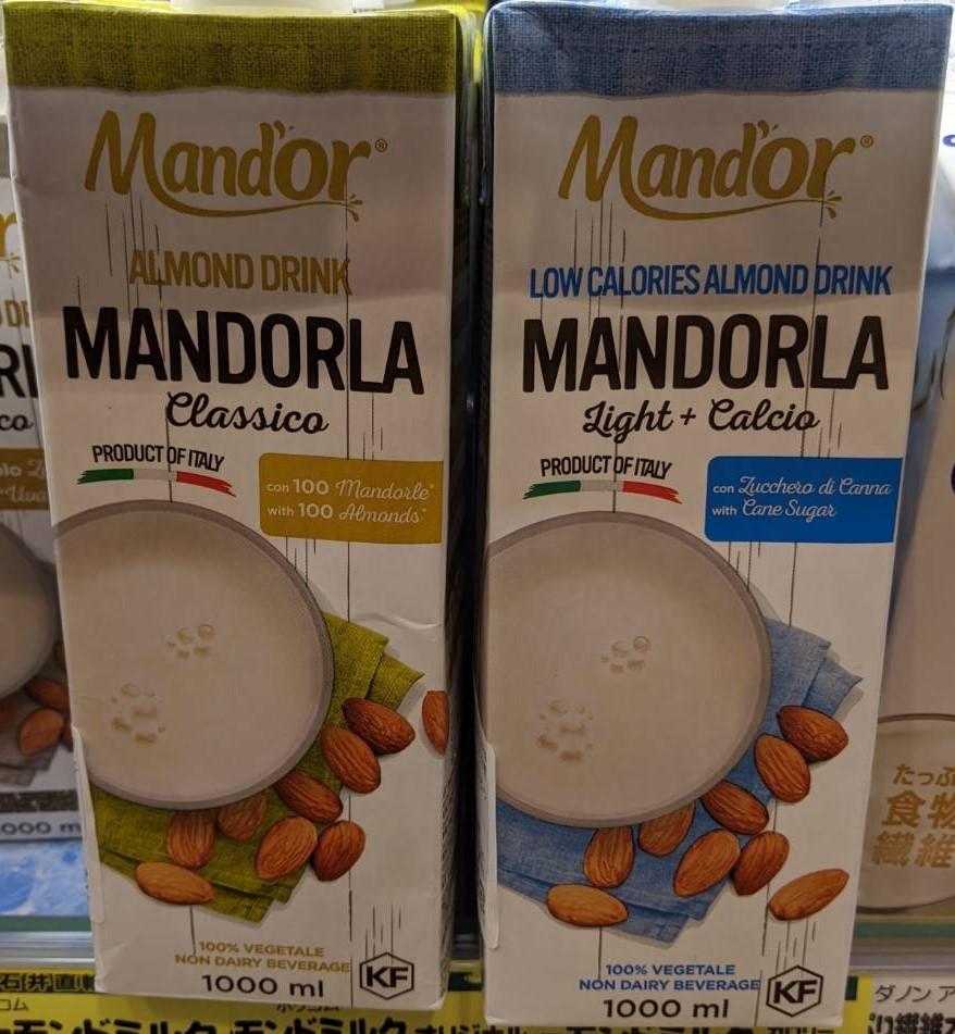 Mand'or Almond Milk