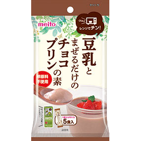 Meito Chocolate Pudding Base