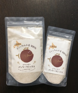Rough ground spelt pancake mix