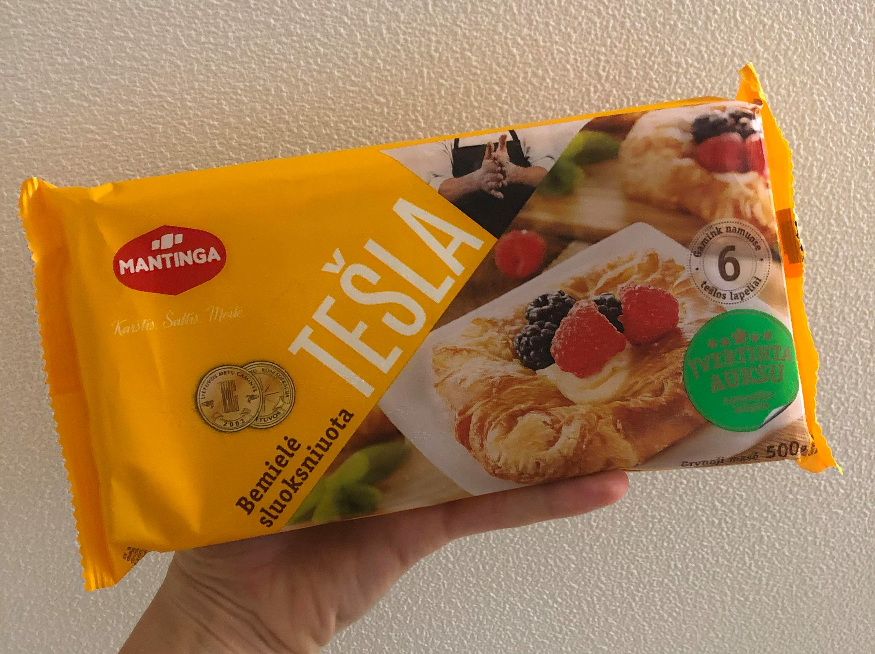 tesla puff pastry front of package