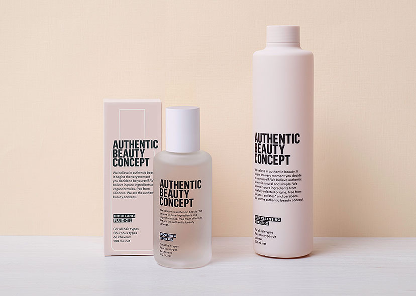 Authentic Beauty Concept stock image