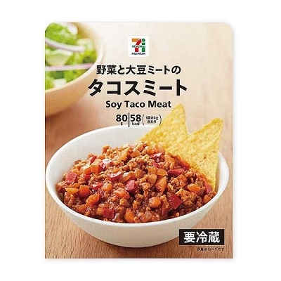 7-11 soy taco meat