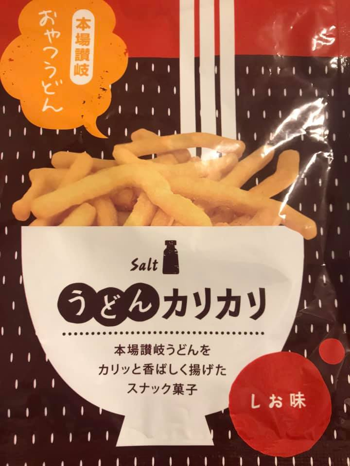 Deep-Fried Udon Snack