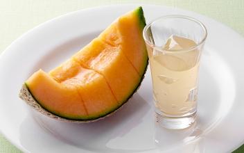 Joyfull Fresh Honeydew Melon with Melon Jelly