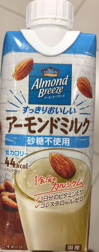 Almond Breeze Almond Milk, unsweetened, new version