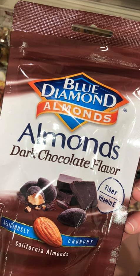 Blue Diamond Almonds Dark Chocolate Flavor