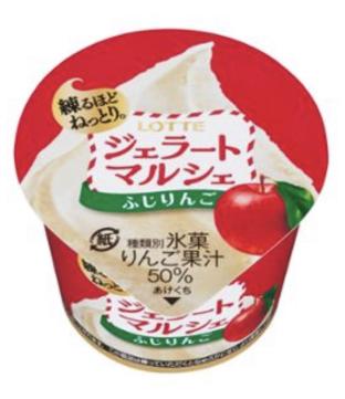 Lotte Gelato Marche Fuji Apple