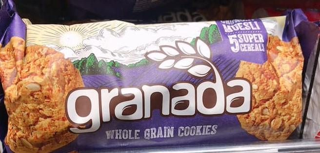 Granada Whole Grain Cookies