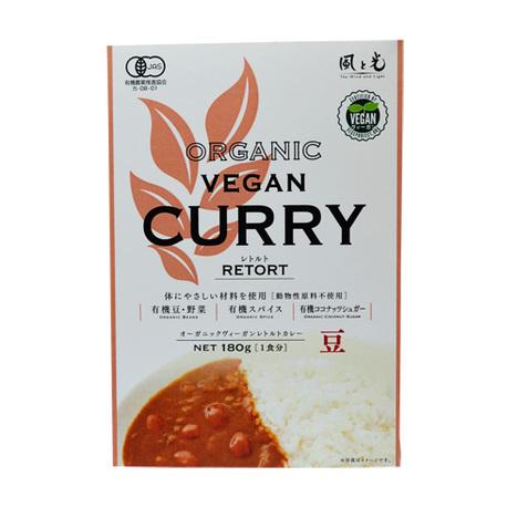 Kaze to Hikari (Wind and Light) Organic Vegan Curry Retort, Beans