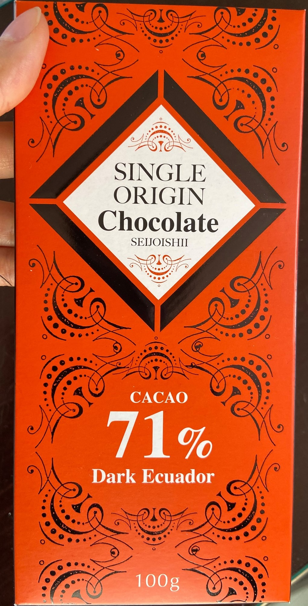 Seijo Ishii single origin chocolate