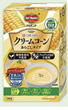 Del Monte One Family Cream of Corn Soup