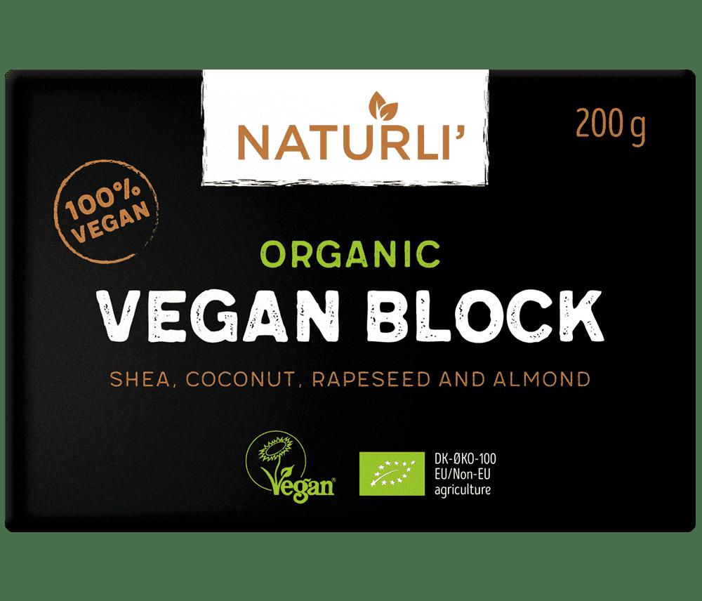 Naturli Organic Vegan Block