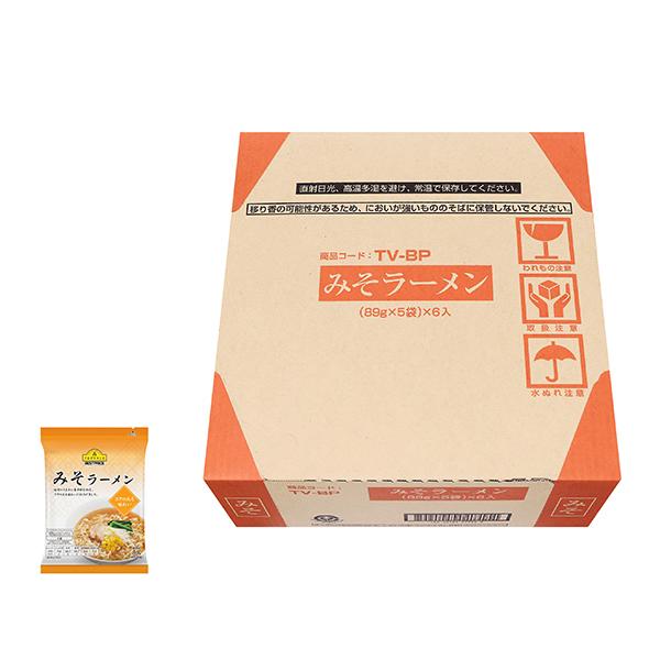 Topvalu Miso (Soybean-paste Flavored) Ramen Case