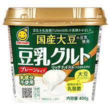 Marusan Soymilk Yogurt with Domestically Produced Soybeans