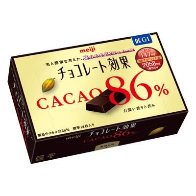 Meiji Chocolate Effects 86% Cacao Blocks, large