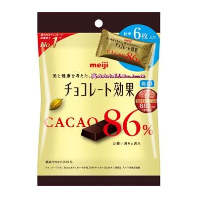 Meiji Chocolate Effects Cacao 86% Sachet 30g