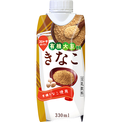 Sujahta Meiraku Kinako Roasted Soybean Flour Soymilk Beverage with Organic Soybeans