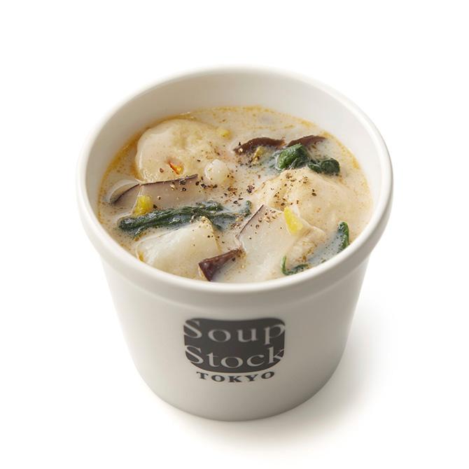 Miyazaki Morotsukason Shiitake mushroom and soy milk potage Soup Stock Tokyo