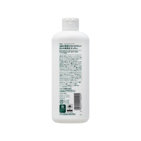Miyoshi Additive-Free Soap Shampoo back of package