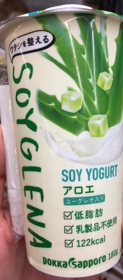 Pokka Sapporo Soyglena Soy Yogurt Drink, Aloe