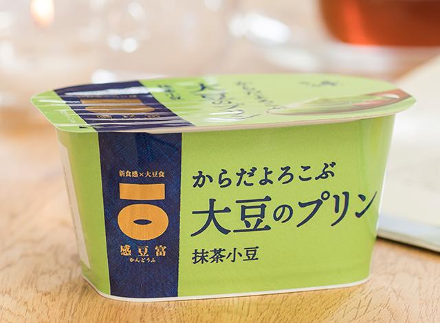 Sato No Yuki Kandofu Soybean Pudding, Matcha Adzuki