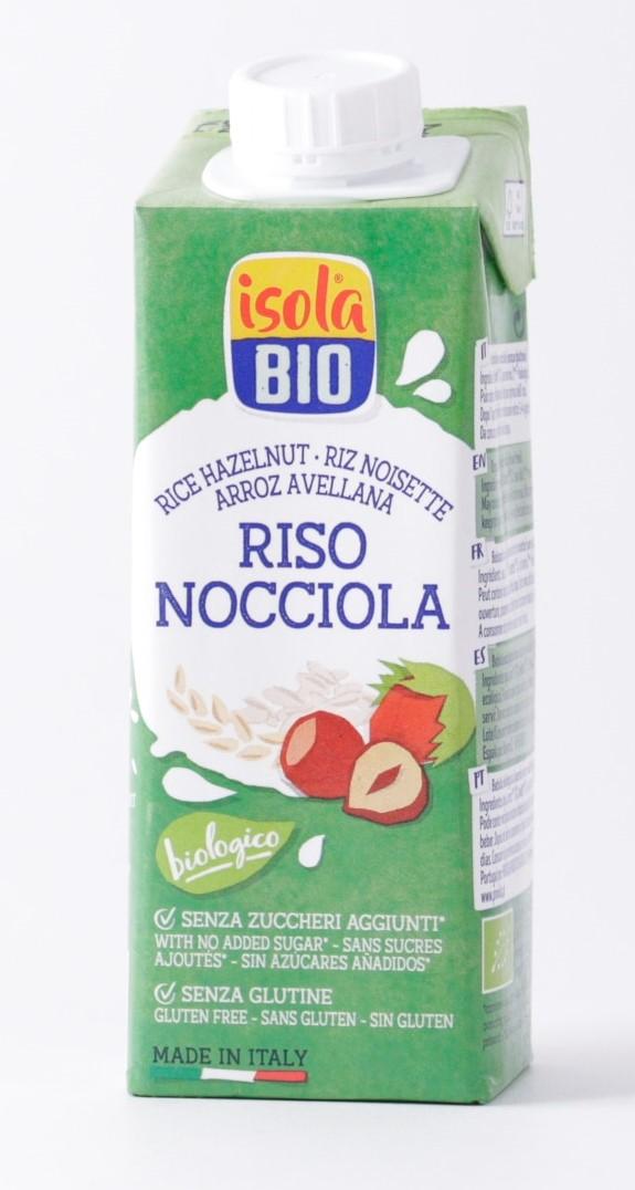Isola Bio Rice Hazelnut Drink